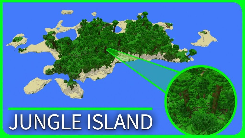 Jungle Island Map