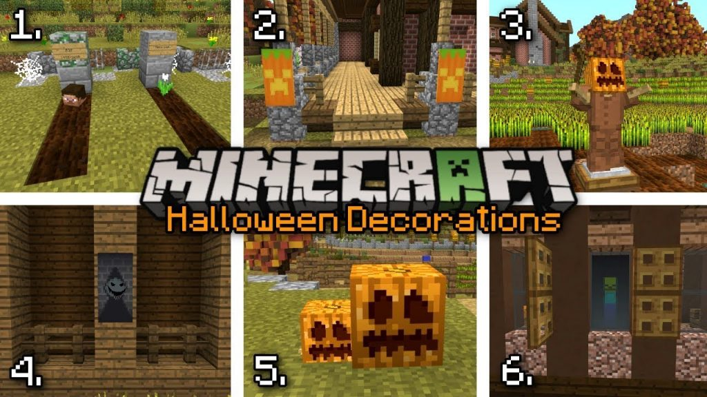 Halloween Decorations Mod