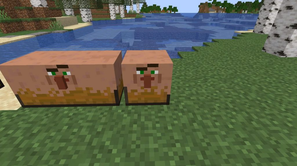 Villager Chests Texture Pack