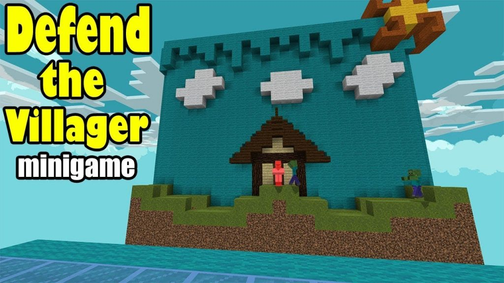 Defend The Villager Map
