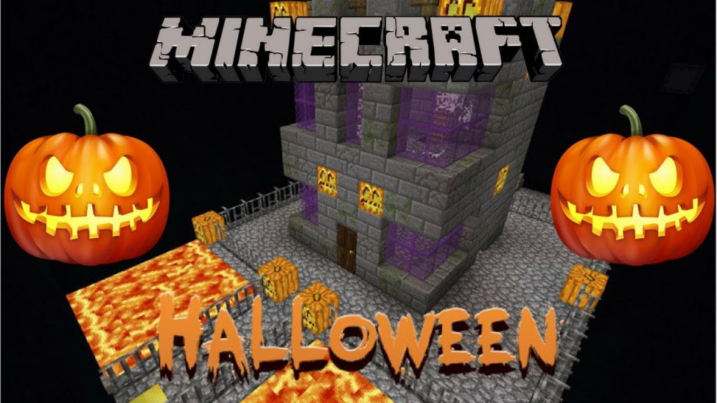 Find The Button Halloween Map