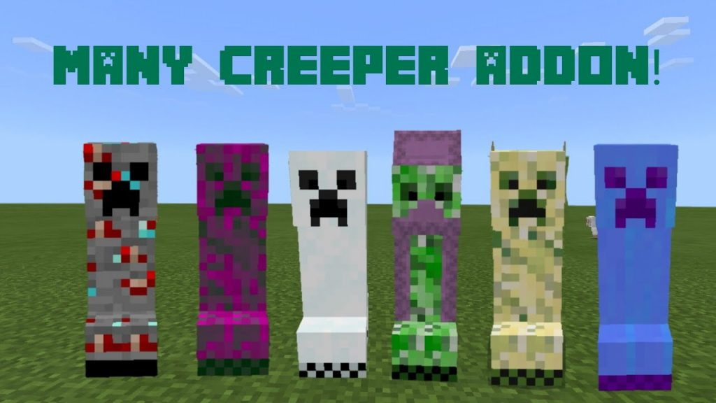 Many Creepers Addon