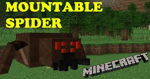 Mountable Spiders Mod