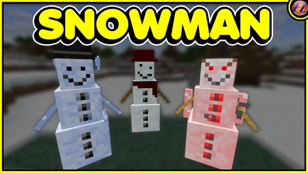 Cosmetic Snowman Addon