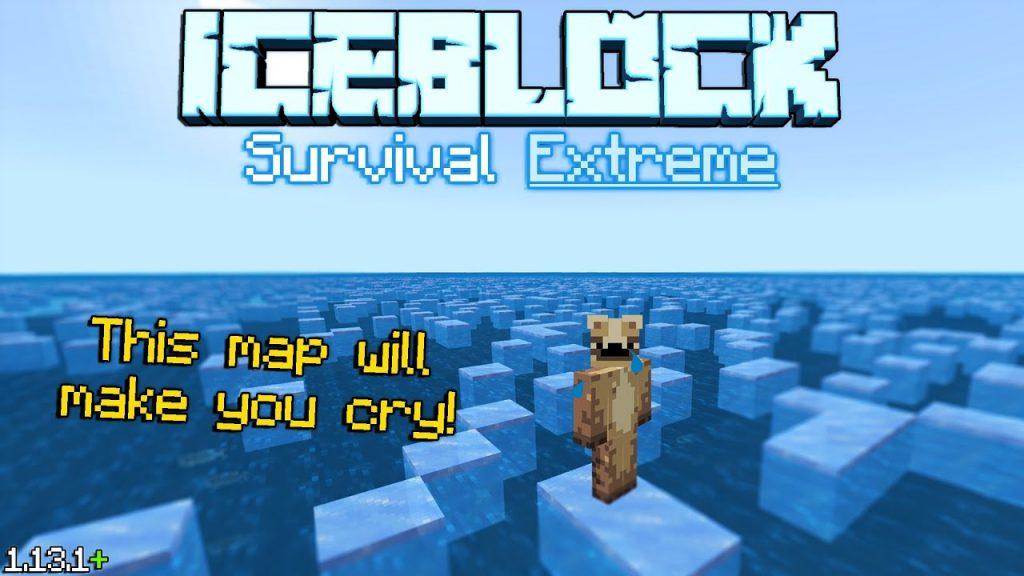 Iceblock Survival Extreme Map