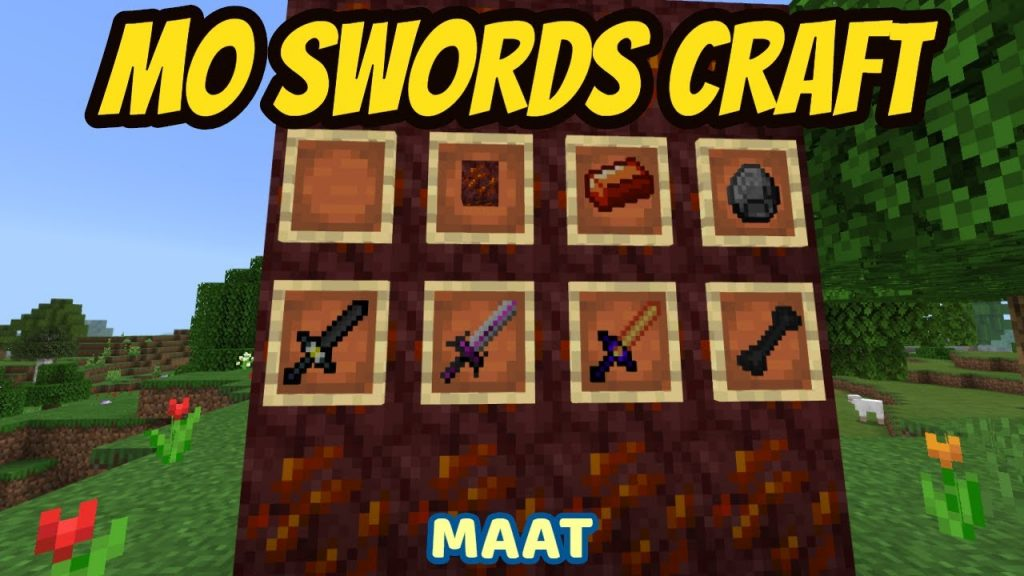 MoSwords Craft Addon