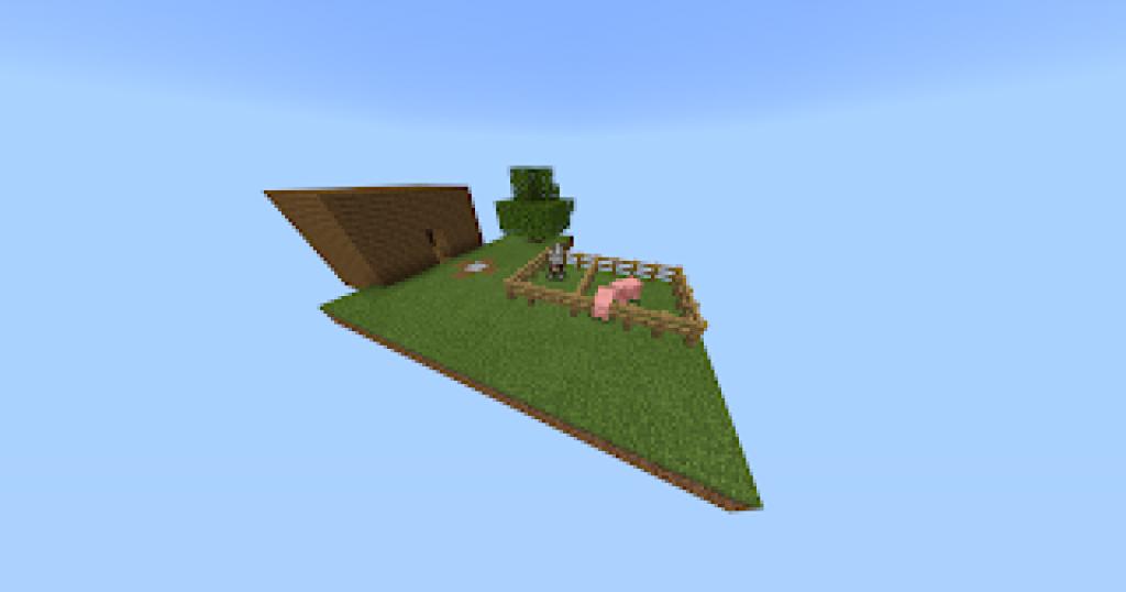 Minecraft In One Block V1 1 Map Minecraft Pe Maps