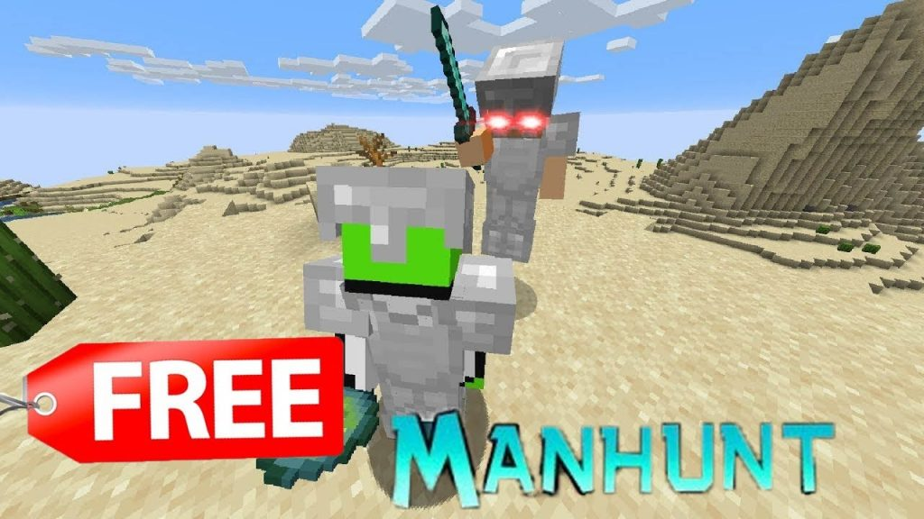 Minecraft Manhunt Map