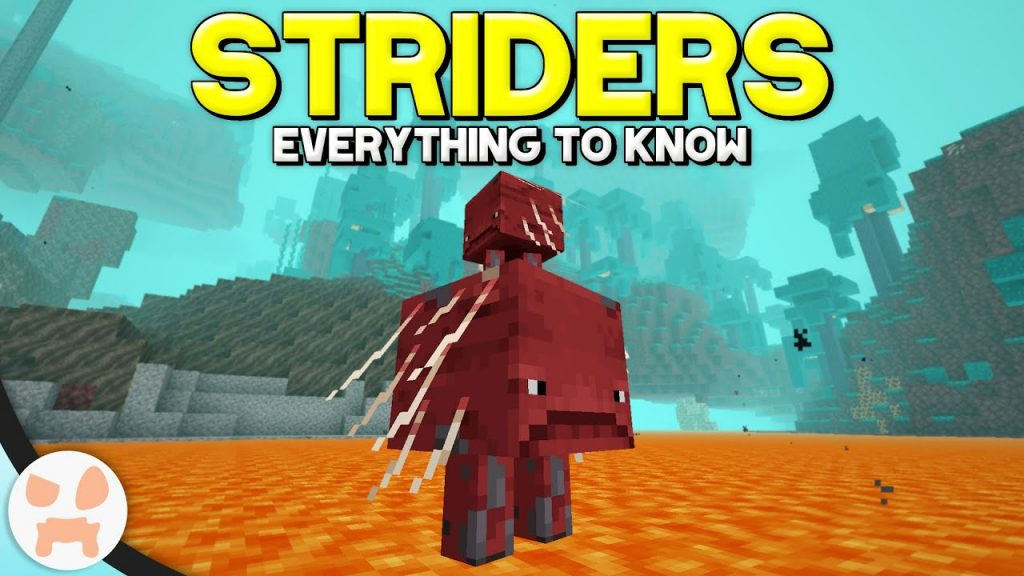 Strider Mob Minecraft Nether Update Concept Mod