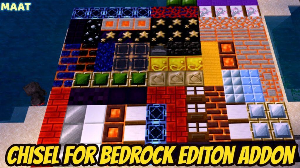 Chisel for Bedrock Editon Addon