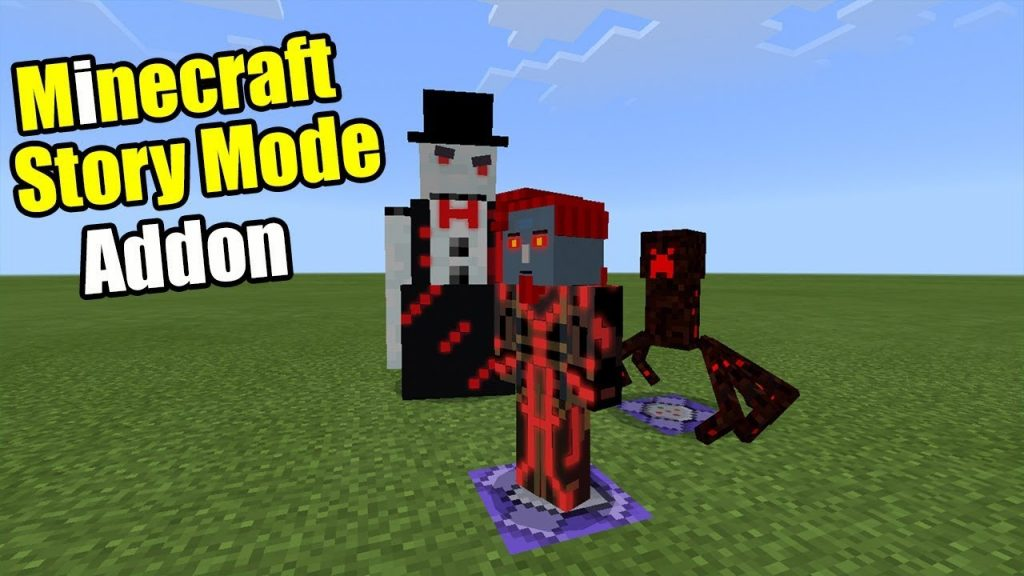 Minecraft Story Mode Addon