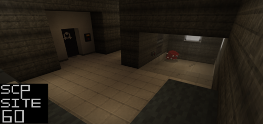 SCP: Site 60 Map