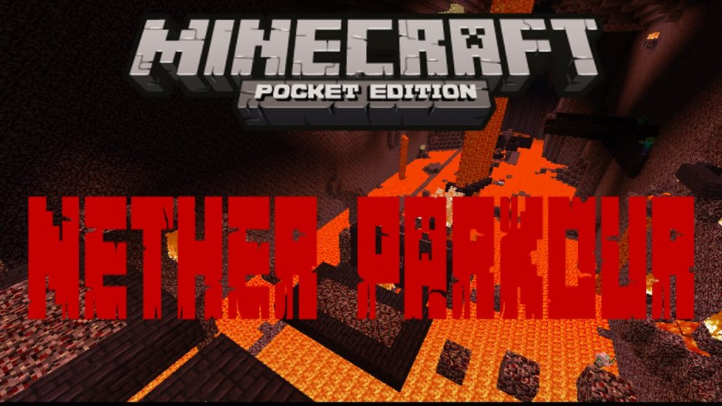 The Nether Parkour Map