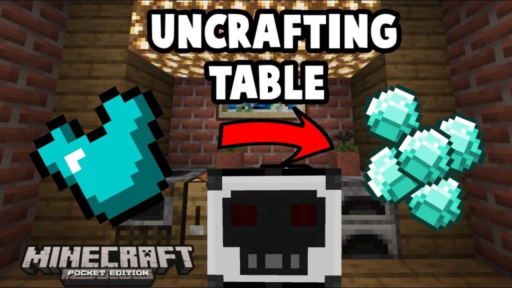 Uncrafting Table Addon