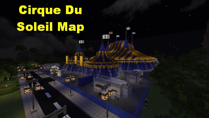 Cirque Du Soleil Map