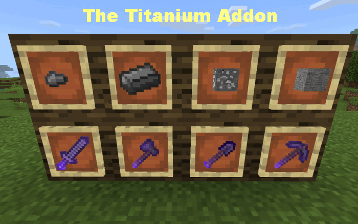 The Titanium Addon