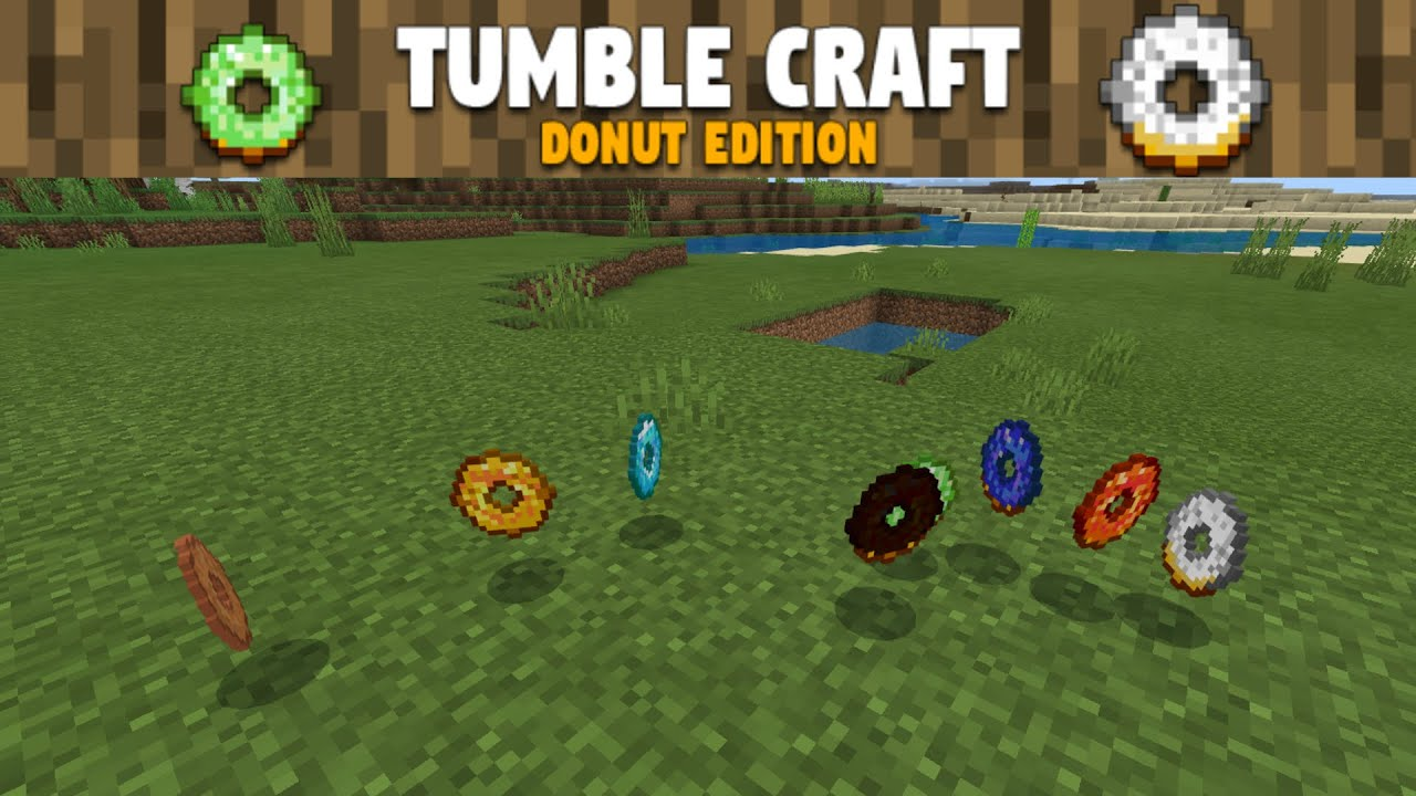 Tumble Craft Donuts Addon