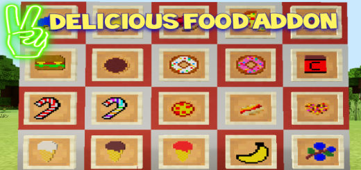 Delicious Food Addon