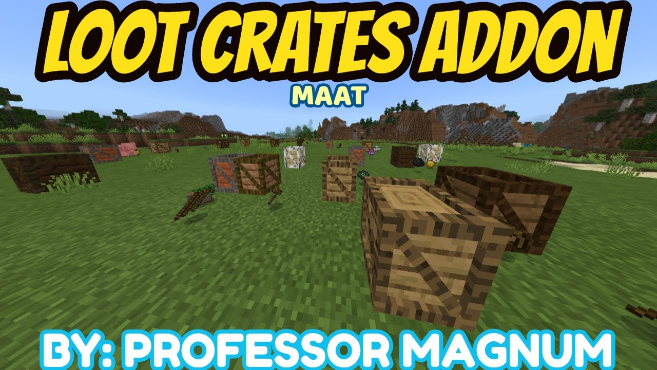 Loot Crates Addon