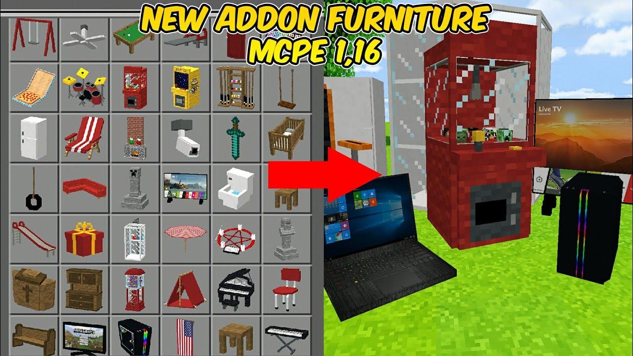 Realistic Storage Furnitures Addon