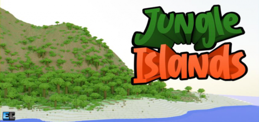 Jungle Islands Map