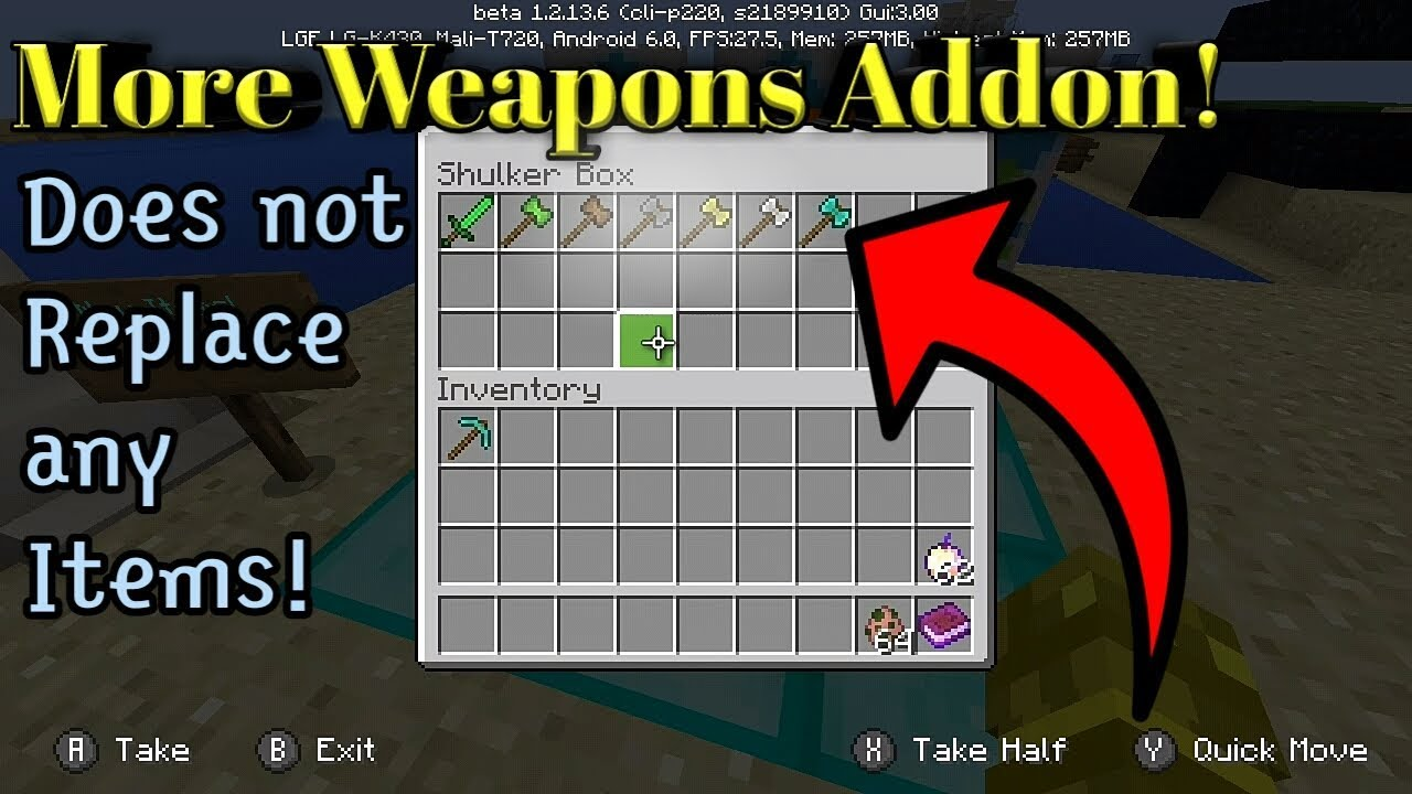 More Weapons Addon