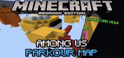 Among Us Parkour Map