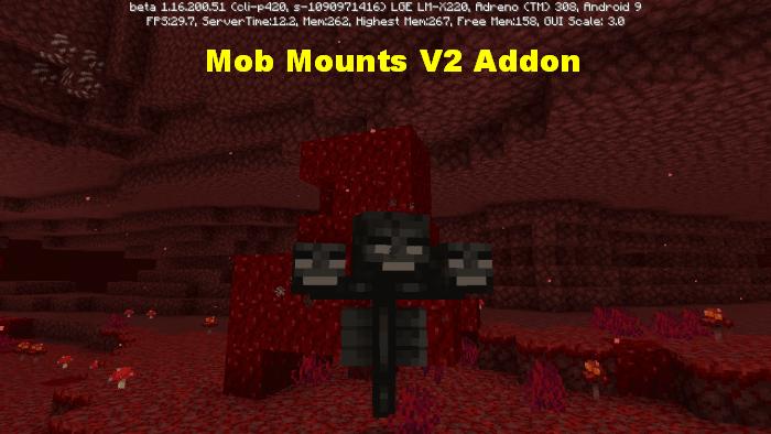 Mob Mounts V2 Addon