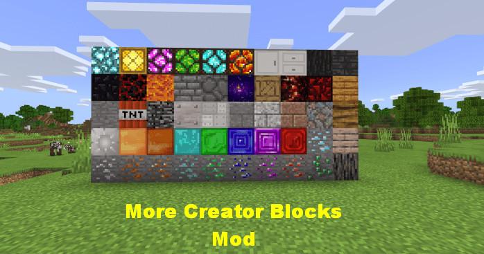 More Creator Blocks Mod