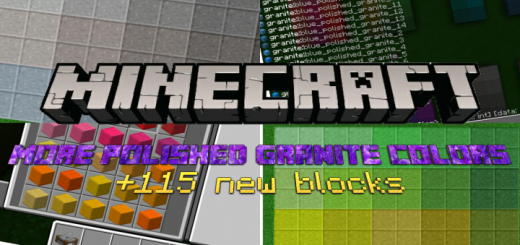 More Polished Granite Colors Mod