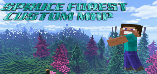 Spruce Forest Map