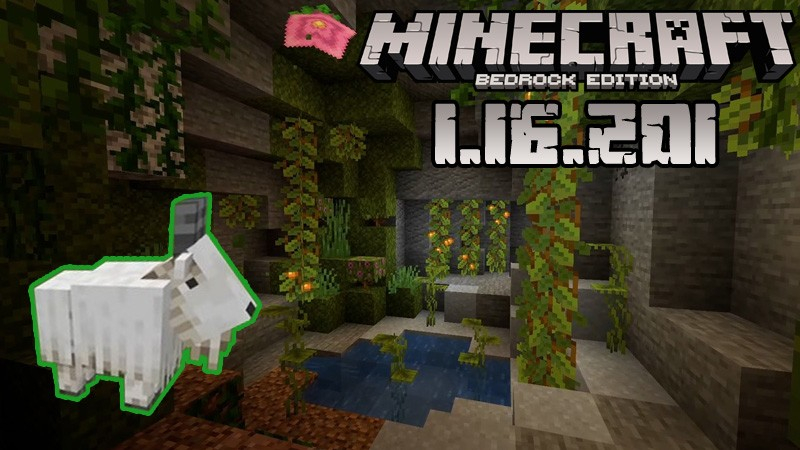 Download Minecraft PE 1.16.201 for Android and Xbox