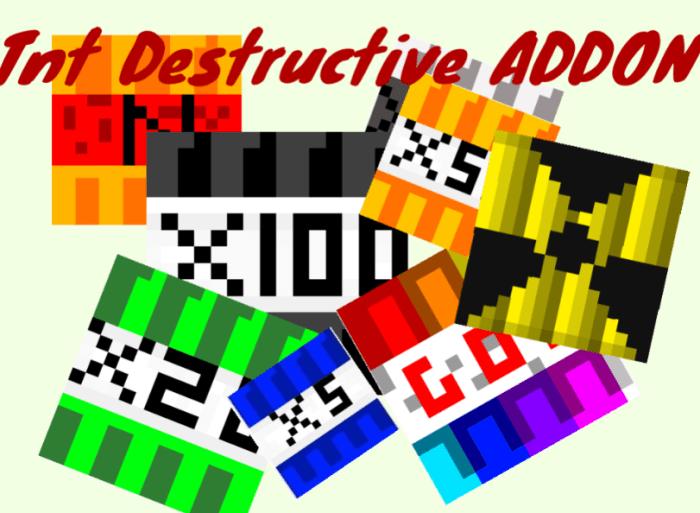 TNT Destructive Addon