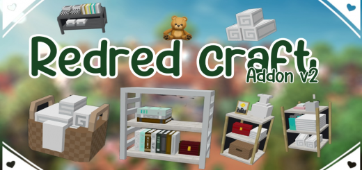 Redred Craft Addon