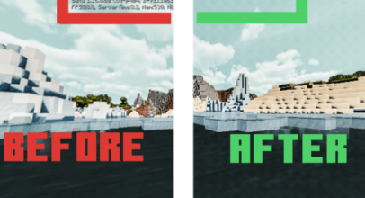 Better Beta – Text Remover Texture Pack