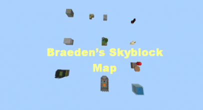 Braeden's Skyblock Map