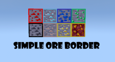 Simple Ore Border Texture Pack